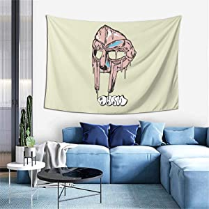 Autoreuse Mf Doom Hip Art Wall Tapestry Home Decoration Tapestry Bedroom Dormitory Tapestry (60x40 Inches)