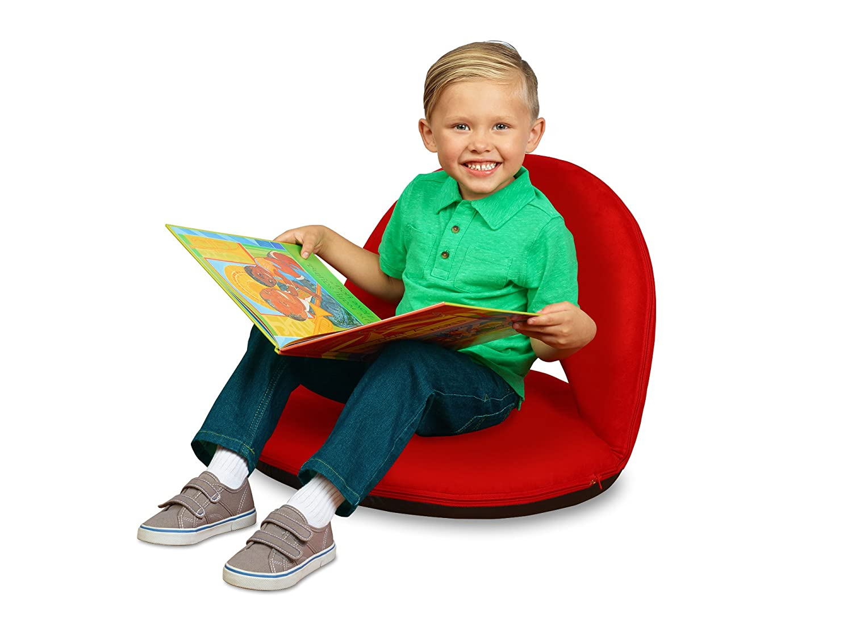 Lakeshore快適な床Seat レッド BR302RD B004ZAKIQW  レッド