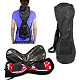 "Self-Balancing Scooter Carrying Handbag Backpack Bag for 6.5"" 7"" and 8"" Two-Wheel Hover Electric Skate Board Smart Balancing Scooters Storage Mesh Pocket Bag by GameXcel"