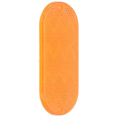Grote 41033-5 Yellow Oval Reflector: Automotive