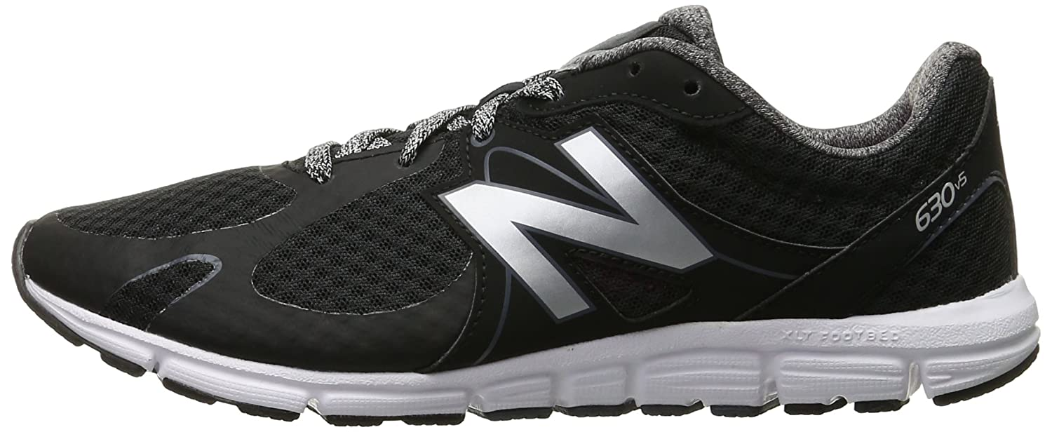 New Balance Women's 630v5 Flex Ride Running Shoe B0163GILUK 8 B(M) US|Black/Grey