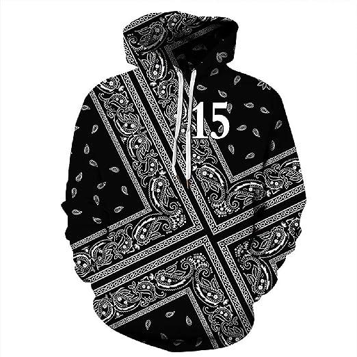 d0e68884162 Black 3D Paisley Print Hoodie Sweatshirt Women Autumn Winter Hoodies Men  Streetwear Hoody Tracksuit Show S