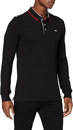 Tommy Hilfiger TJM Stretch Slim Longsleeve Polo Hombre