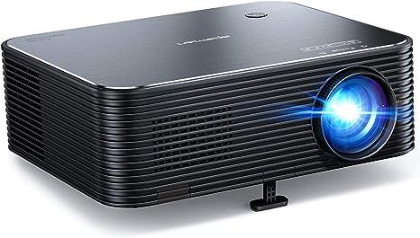 Proyector, APEMAN Full HD 1920x1080P Nativo, Proyector 4K Soporte, 300