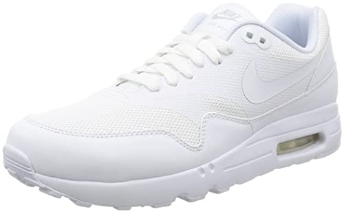 Nike Herren Air Max 1 Ultra 2.0 Essential Laufschuhe, Bianco