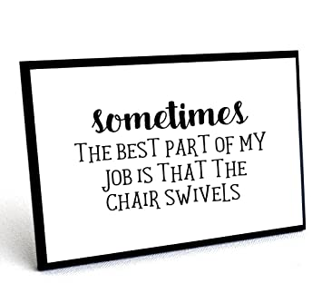 Amazoncom Funny Office Signs With Quote Wall Plaques With Quotes