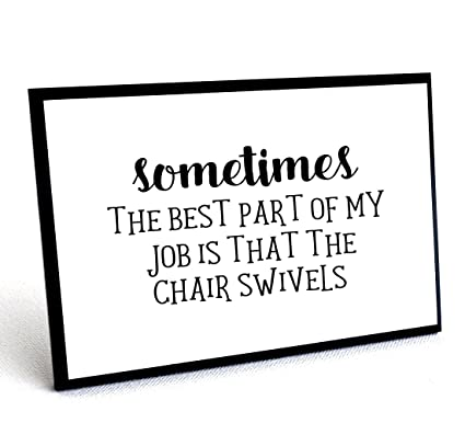 Funny Office Signs With Quote, Wall Plaques With Quotes, ...