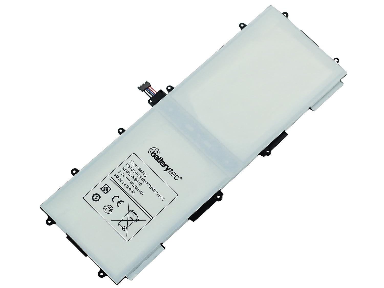 3.7V 8000mAh, 12 mesi garanzia Galaxy Tab 2 10.1. Batterytec/® Batteria per SAMSUNG GT-P5100 GT-P5110 GT-P7500 GT-P7510 GT-N8000 GT-N8010