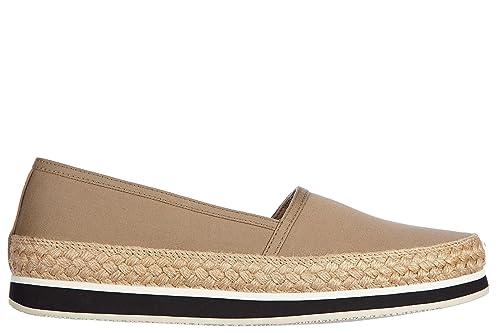 Prada Slip on Mujer Nuevo Gabardine Beige EU 40 3S5993 3O9T F0241: Amazon.es: Zapatos y complementos