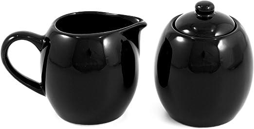 Amazon.com: Cerámica de Color Negro Jarra de leche ...
