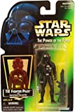 Star Wars The Power of the Force Action Figure - Tie Fighter Pilot - Green Card with Hologram Picture