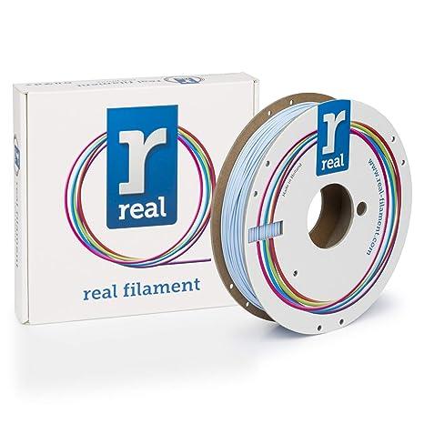 Filamento PLA Azul claro 1,75 mm / 0,5 kg Real: Amazon.es ...