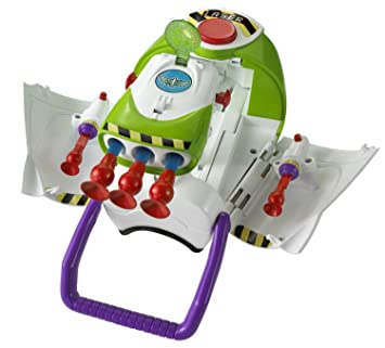 7db1f03e58 Disney Toy Story 3 Electronic Buzz Lightyear Ultra Blast Gauntlet   Amazon.co.uk  Toys   Games