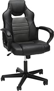 OFM Essentials Collection Racing Style Gaming Chair, in Gray (ESS-3083-GRY)