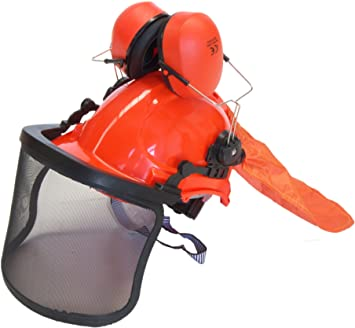 Bricoferr BFK390 Kit para la protección desbrozadora: Amazon.es ...
