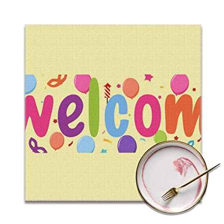 Cartel de Bienvenida para la casa, Lavable, Suave, para la ...