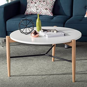 Amazoncom Safavieh FOX8204A Home Collection Thyme Coffee Table