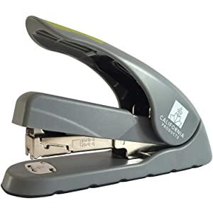 Heavy Duty Stapler for Office Desk with One Touch Technology - Low Force and High Capacity for Reduced Effort - Staples 40 Pages - Ergonomic Hand Grip - Great for Work College or Home Office Supplies