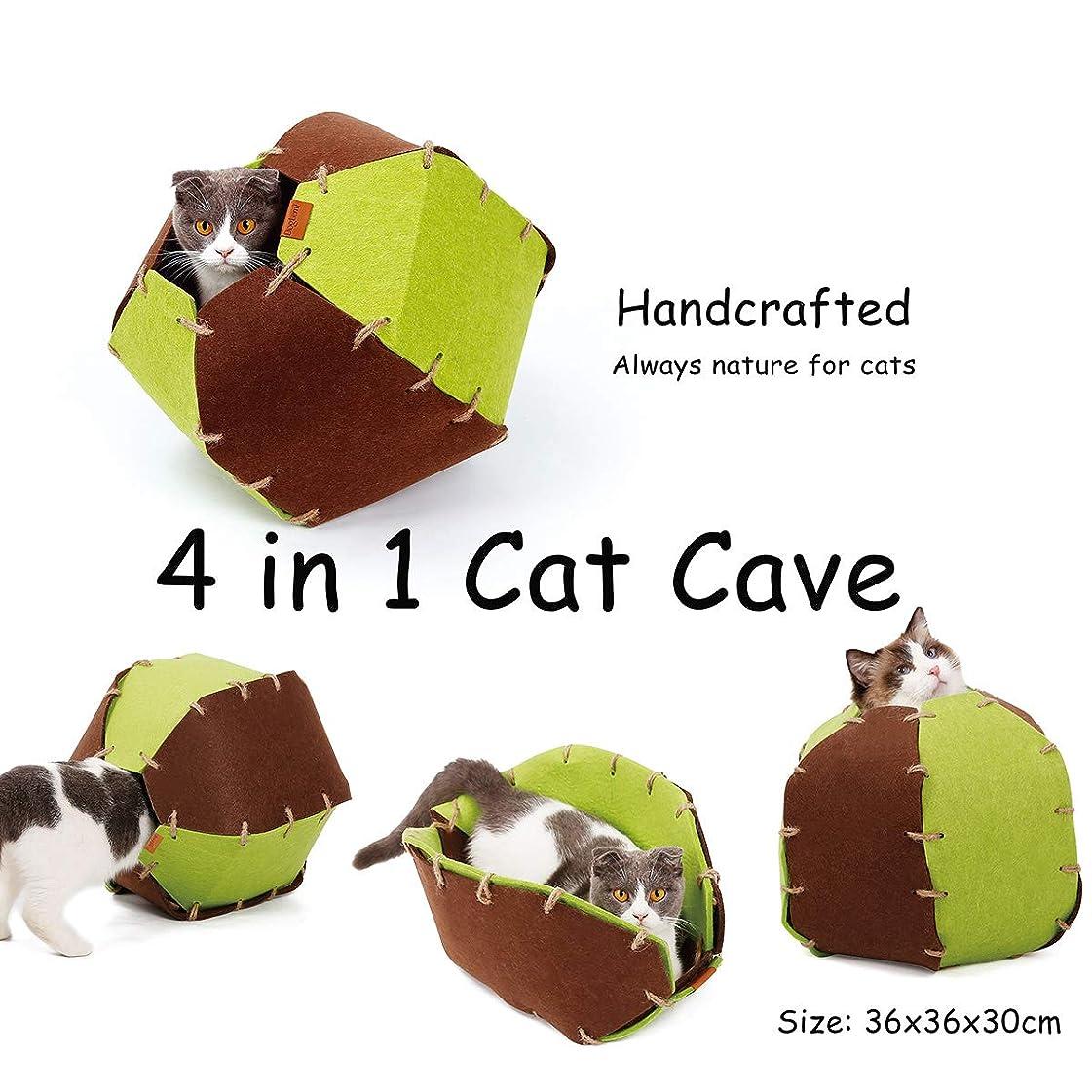 拍手縫う乱闘PAWZ Road 猫ハウス 猫テント ペットテント ペットハウス 猫小屋 折りたたみ