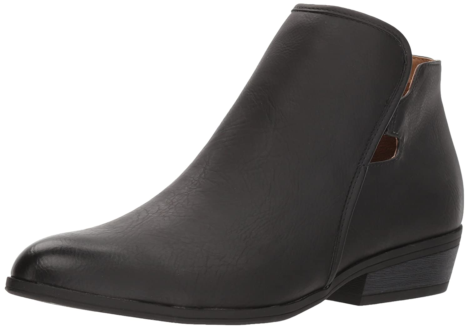 NATURAL SOUL Women's Harvard Ankle Boot B0763M4P22 9 M US|Black