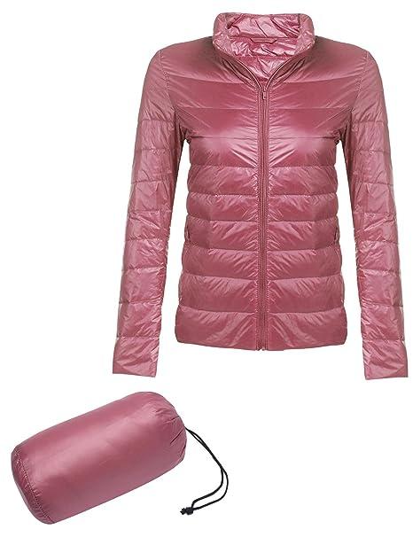 Amazon.it: Piumino Rosa Donna