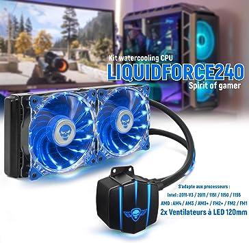 Spirit Of Gamer - Kit watercooling Liquidforce 240 para ...