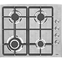 Gas Cooktop, KUPPET 20x23 inches Built in Gas Cooktop, 4 Burners Gas Stove Cooktop, Stainless Steel Cooktop Gas Hob, ETL Safety Certified, Thermocouple Protection
