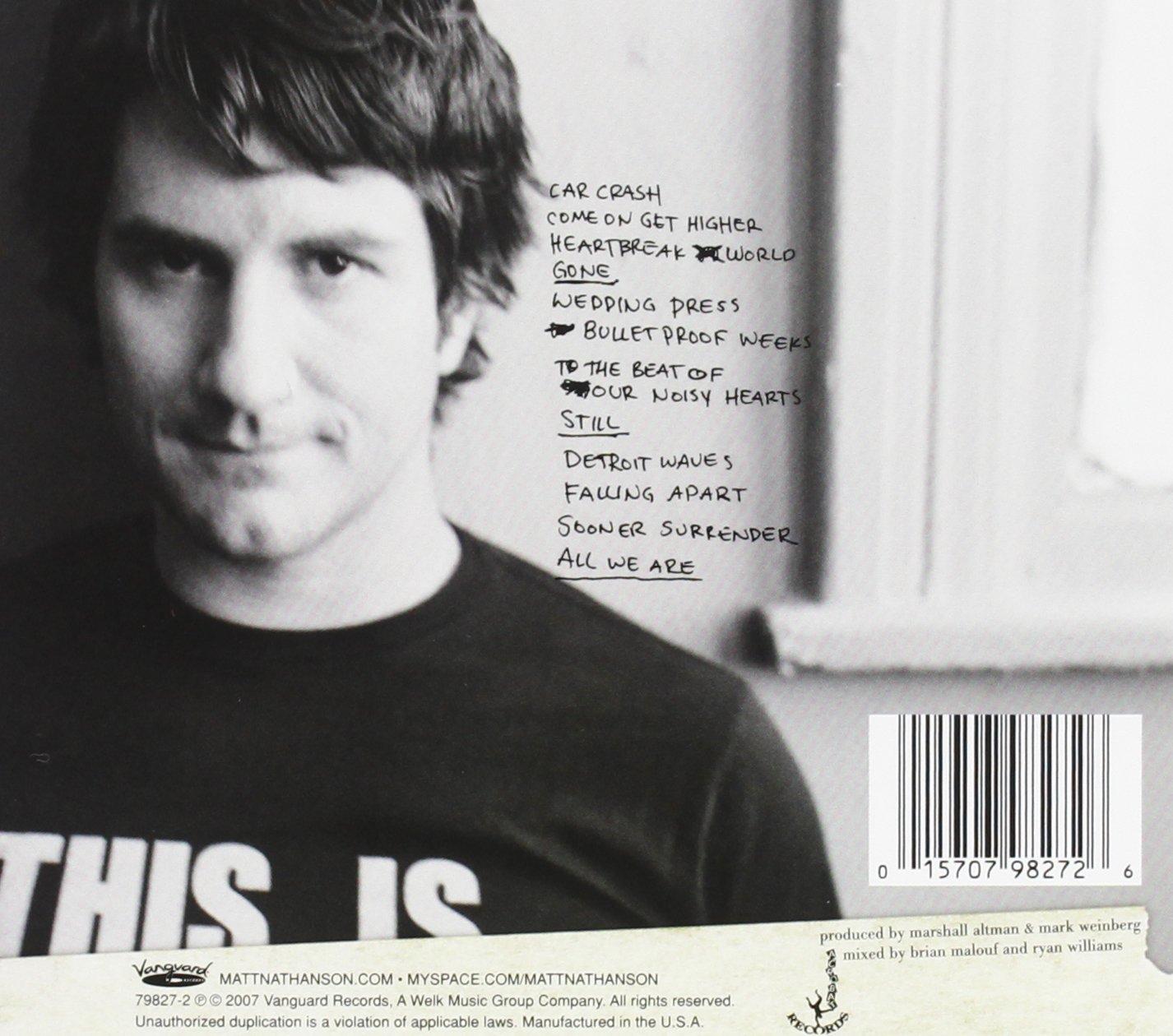 Matt Nathanson Some Mad Hope Amazon Com Music
