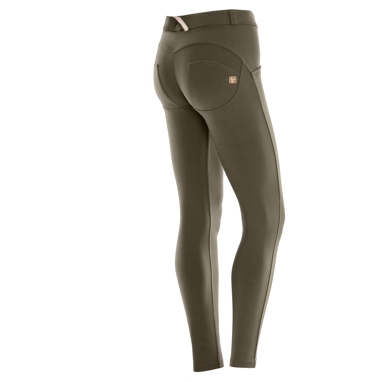 TALLA XS. Freddy–Pantalón de Jeans para Mujer - Modelo Wrup Snug - Estilo Skinny o Pitillo