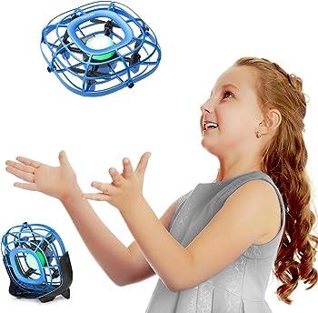 Tomzon Levitation UFO Hand Operated Quad Induction Mini Drone