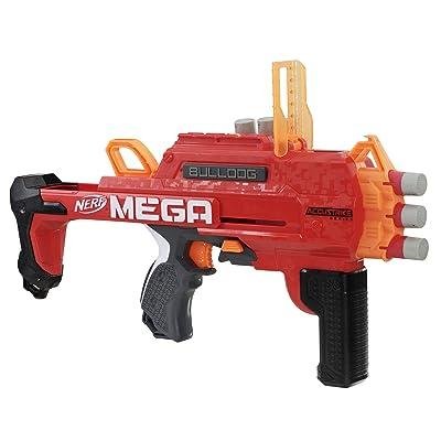 NERF Accustrike Mega Bulldog Toy: Toys & Games
