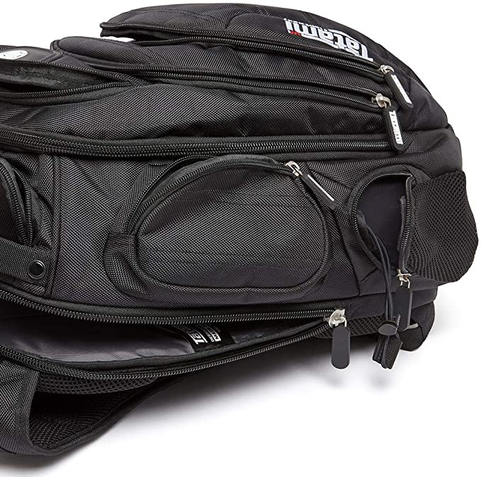 Tatami Rogue Back Pack Black BJJ No-Gi Brazilian Jiu Jitsu MMA Gym Gear Day Bag
