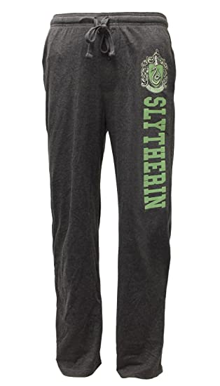 Hot Topic Harry Potter Slytherin Chicos pantalón de Pijama - Gris -: Amazon.es: Ropa y accesorios