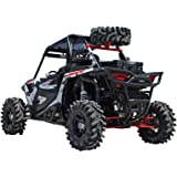 SuperATV Spare Tire Carrier for Polaris RZR XP 1000/4 Seater/Turbo - Wrinkle Black