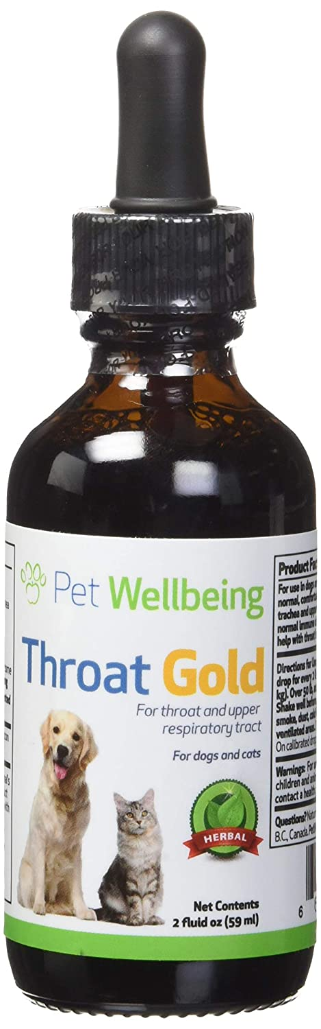 Buy Pet Wellbeing Throat Gold For Dogs Collapesed Trachea
