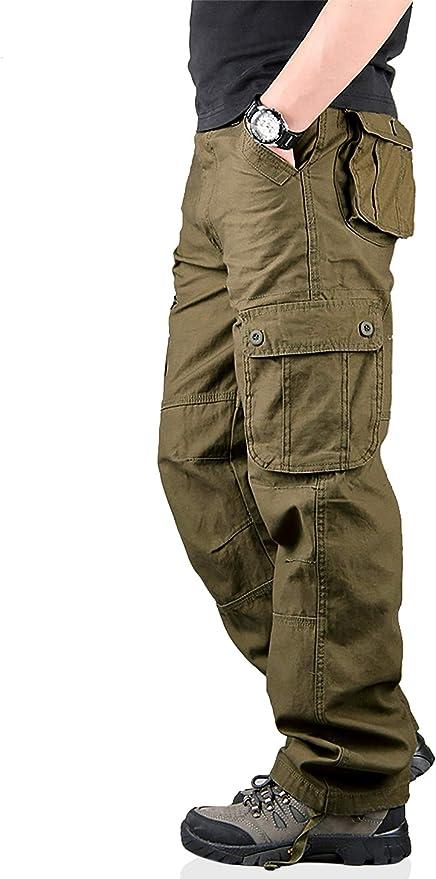 59 opinioni per TAIPOVE Uomo Pantaloni Cargo Pantaloni Tattici Militari Uomo, Pantaloni da