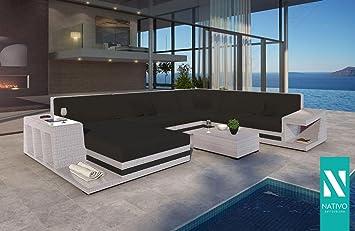 Outdoor Küche Xxl : Outdoor designer rattan lounge gartenmÖbel sofa carezza xxl mit
