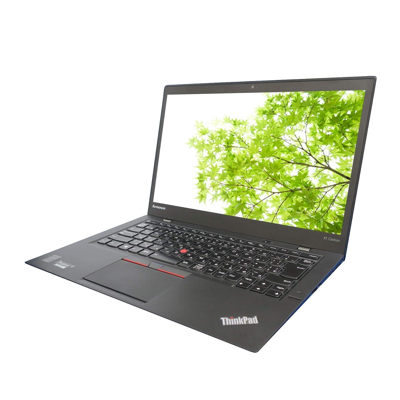 【中古】 ThinkPad X1 Carbon 20BTS0HJ0W / Core i7 5600U(2.6GHz) / SSD:256GB / 14インチ / ブラック   B07JY8FQ8F