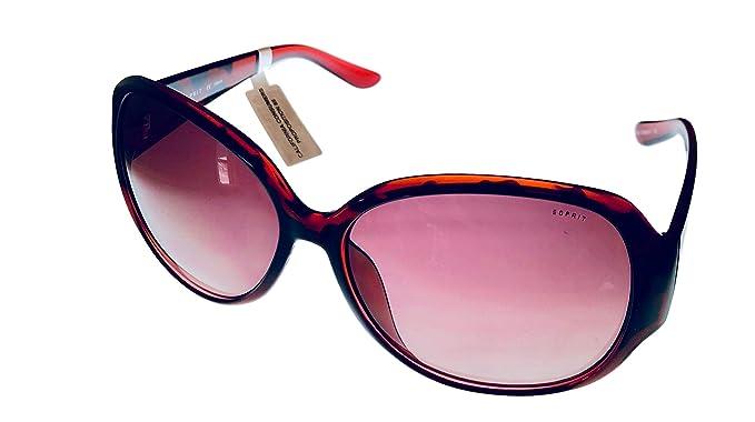 Amazon.com: Esprit Mujer Gafas de sol Rosa Rectángulo ...