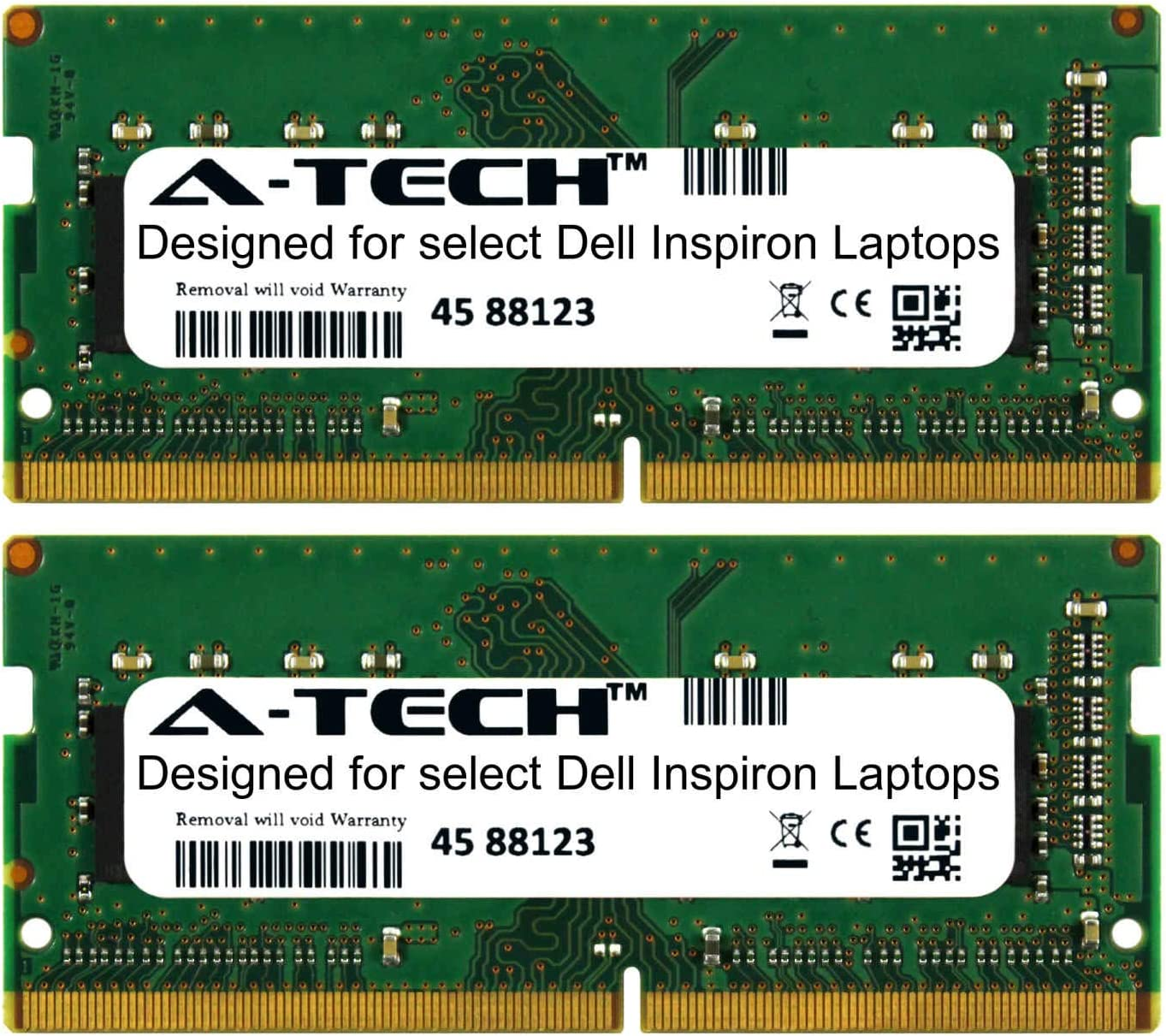 A-Tech 32GB Kit (2 x 16GB) for Dell Inspiron 7000 Series 7375 7460 7467 7560 7566 7567 7570 7573 7577 7580 7586 7773 7786 2400Mhz DDR4 Laptop & Notebook Memory Ram Modules