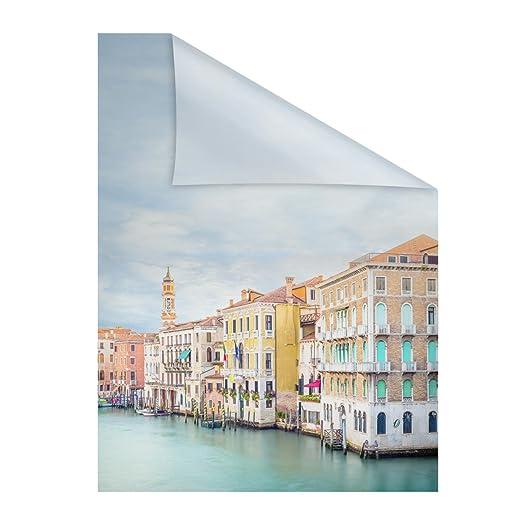 Lichtblick Fensterfolie Selbstklebend Sichtschutz Motiv Vendig