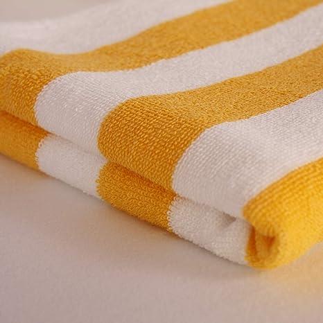 Hans de Tienda Textil Toallas de Mano de 50 x 100 cm, diseño de Rayas
