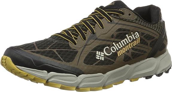 Columbia Caldorado II Outdry, Zapatillas de Running para Asfalto para Hombre, Marrón (Jet/Mud), 44 EU: Amazon.es: Zapatos y complementos