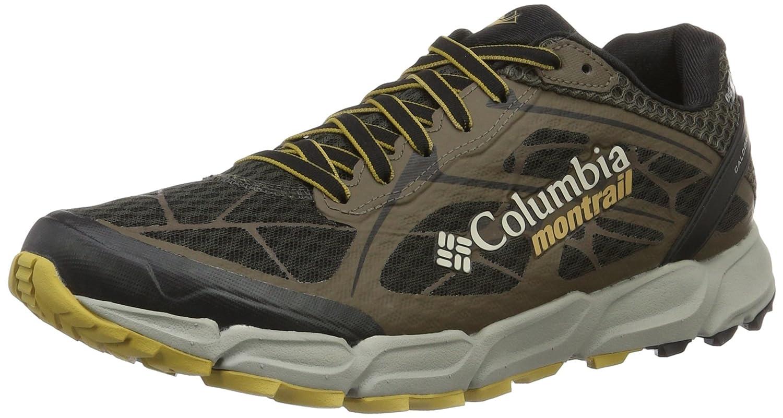 Columbia Caldorado II Outdry, Zapatillas de Running para Asfalto para Hombre 43 EU|Marrón (Jet/ Mud)