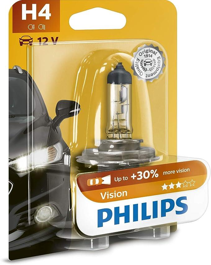 Philips 12342prb1 Vision 30 H4 Scheinwerferlampe 12342prb1 1er Blister Auto