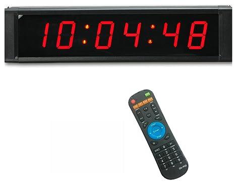 21651f9710343c Ganxin programmabile 2,5 cm colore rosso 6 cifre LED timer con conto alla  rovescia