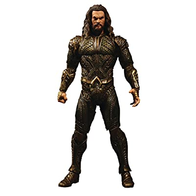 Mezco Toys One: 12 Collective: DC Justice League Movie Aquaman Action Figure: Toys & Games