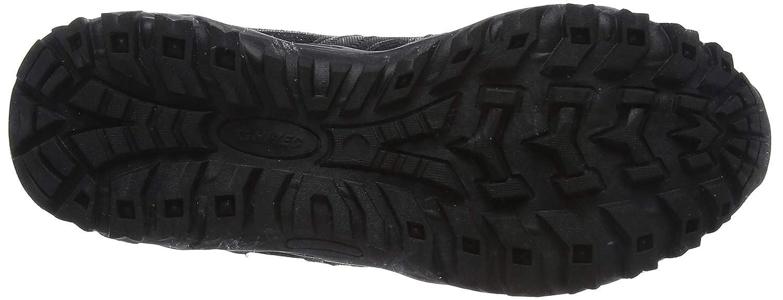 Hi-Tec Jaguar Zapatillas de Senderismo para Hombre Negro 43 EU Black//Picante 21