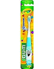 GUM Crayola Pip-squeaks Kids Toothbrush, Ultra Soft, 2-5 yrs