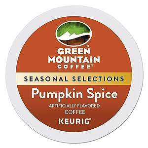 Green Mountain Coffee Roasters Pumpkin Spice Keurig Single-Serve K-Cup Pods, Light Roast Coffee, 96 Count